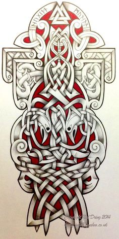 Tattoos:Celtic tattoo designs creative ravens by tattoo designviantart on deviantart gallery celtic tattoo designs Thor Hammer Tattoo, Thor Tattoo, Norse Tattoo, Viking Tattoos, Celtic Tattoo Meaning, Celtic Sleeve Tattoos, Tribal Tattoos With Meaning, Tribal Tattoo Designs, Viking Tattoo Design
