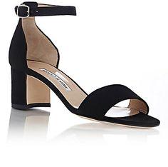 Manolo Blahnik Lauratomod Ankle-Strap Sandals - Heels - Barneys.com