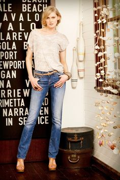 Mavi jeans straight leg