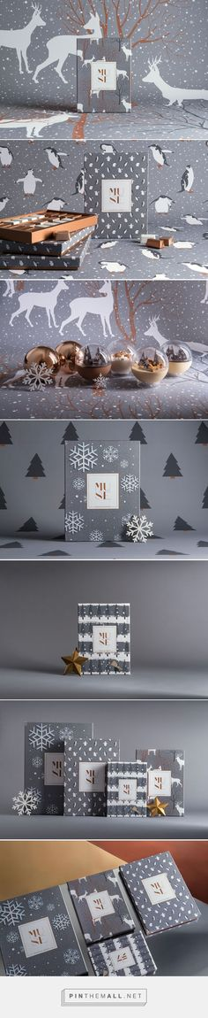 MUSE Xmas Chocolate Packaging by Mo Kalache