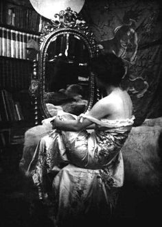 Model study ,1890s by Alphonse Mucha
