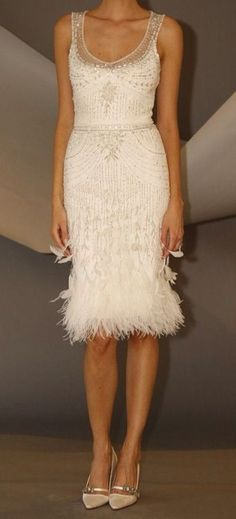 Gorgeous short wedding dress, Destination, Courthouse or City Hall wedding