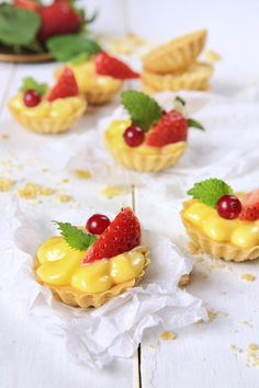 St[v]ory z kuchyne | Lemon Tartalets