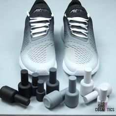 d64e9028d222 CUSTOM NIKE AIR MAX BLACK AND WHITE OMBRE 270 s