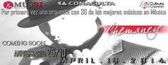Tributo a la Salsa | Chemaney El Salsero de México | Concierto de Aniversario 25/10 Big Salsa Band  Sábado 19 de Abril  | Jardín Hidalgo Coyoacán Centro  Entrada libre
