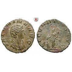 Römische Kaiserzeit, Salonina, Frau des Gallienus, Denar 253-268, ss+: Salonina, Frau des Gallienus +268. Denar 17 mm 253-268 Rom.… #coins