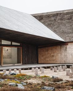 Wadden Sea Centre by Dorte MandrupResearch, Architecture, Interiors Photography: ©Rasmus Hjortshøj Around years ago, the end of the. Contemporary Architecture, Architecture Details, Landscape Architecture, Interior Architecture, Cabana, Architectural Section, Interior Photography, House In The Woods, World Heritage Sites