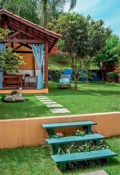 Pergola Ideas For Patio Rustic Pergola, Pergola Patio, Backyard Patio, Gazebo, Pergola Ideas, Outdoor Living, Outdoor Decor, Outdoor Spaces, Porches