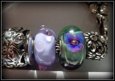 Another piece of art from Trollbeads found on Trollbeads Gallery Forum. Pandora Beads, Pandora Charms, Baubles And Beads, Jewelry Companies, Art Pieces, Troll Beads, Gemstone Rings, Take That, Bangles