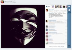 Hackers invadem perfil de Dilma Rousseff no Instagram em apoio aos protestos «