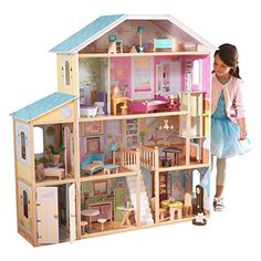 Dependable New Girl Diy 3d Wooden Mini Dollhouse Doll House Furniture Educational Toys Furniture For Children Pink Girl Heart Numerous In Variety Architecture/diy House/mininatures