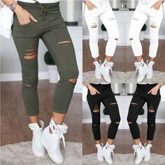 4XL New Female Trousers Sexy Women Hole leggings pencil Pants Slim Stretch Drawstring Trousers Pants Plus Size Army Green Pants     Buy Now for $17.67 (DISCOUNT Price). INSTANT Shipping Worldwide.     Buy one here---> https://innrechmarket.com/index.php/product/4xl-new-female-trousers-sexy-women-hole-leggings-pencil-pants-slim-stretch-drawstring-trousers-pants-plus-size-army-green-pants/    #hashtag2