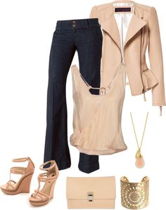 """Trouser jeans look"" by divacrafts on Polyvore"