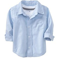 Old Navy Oxford Uniform Shirts For Baby Size 12-18 M - Blue (25 BRL) ❤ liked on Polyvore featuring baby, kids, baby clothes, baby boy, kids clothes and boys