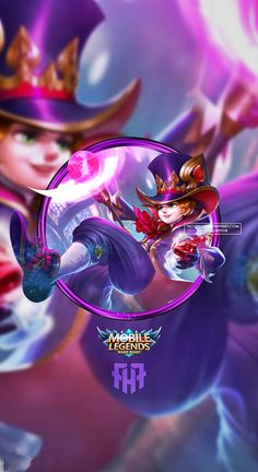 Wallpaper Phone Harley Mage Genius by FachriFHR on DeviantArt Alucard Mobile Legends, Moba Legends, Android Mobile Games, Videos Anime, Hero Logo, Mobile Legend Wallpaper, The Legend Of Heroes, King Of Fighters, Poker Online