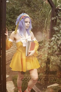 Fairy tail cosplay... Levy McGarden by DeathLifeCosplayCrew