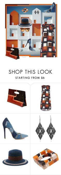 """""""Straight Line Geometri"""" by ragnh-mjos ❤ liked on Polyvore featuring Andres Gallardo, Pocket Book, Dorothy Perkins, Maison Michel, Gucci, contest, outfit and theunexpected"""