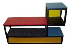 De Stijl Movement | Gerrit Rietveld De Stijl Movement Piet Mondrian dining tables, coffee ...