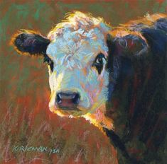 "Daily Paintworks - ""Rookie"" - Original Fine Art for Sale - © Rita Kirkman"