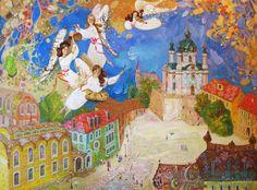 Картина «Весна на Андреевском спуске», Художник Збруцкая Оксана