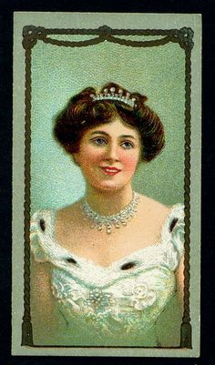 Cigarette Card - Actress, Miss Isabel Jay | Flickr - Photo Sharing!