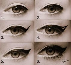 Step By Step PERFECT Eyeliner!