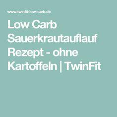 Low Carb Sauerkrautauflauf Rezept - ohne Kartoffeln | TwinFit