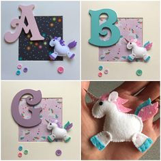 Unicorn Personalised Box Frame Personalised Gift Keepsake
