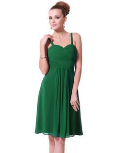 Simple green dress - suitable for Bridesmaids?