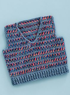 Ravelry: Big Boy Vest pattern by The Staff at Martingale