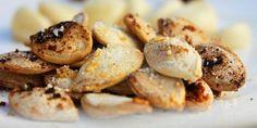 Garlic Parmesan Pumpkin Seeds Recipe