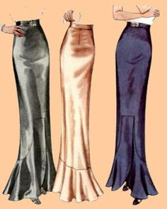 1936 Skirt