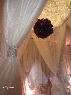 Detail shot Wedding chuppah, Lake Geneva WI