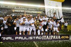 Imagens do Santos Campeão Paulista de 2016 - Gazeta Esportiva