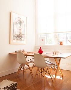 Claire Mazur's Brooklyn home on Design*Sponge (co-founder of Of a Kind)