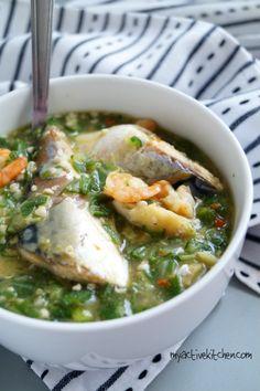 Oil Less Okra Soup - Mode Afro - Oil Less Okra Soup oil less okra soup nigerian soup - Okra Soup Recipe, Soup Recipes, Cooking Recipes, Healthy Recipes, Family Recipes, Easy Cooking, Easy Recipes, Nigerian Soup Recipe, Diabetic Recipes