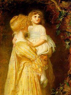 The Nest, John Everett Millais - 1887