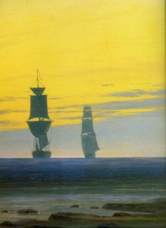 Caspar David Friedrich, (1774-1840), German artist, one of the leading representatives of the Romantic movement in painting in Germany (along with Philipp Otto Runge).