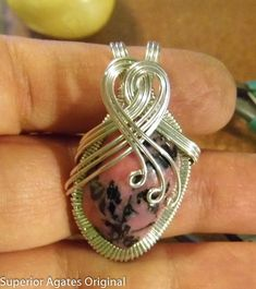 Wire Wrapped Gem Stone Tutorial by superioragates on Etsy, $5.00