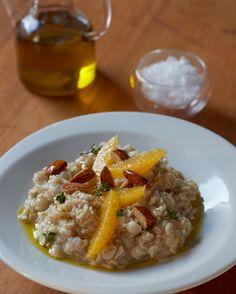 Breakfast Rehab: Oatmeal with Olive Oil and Oranges | Tastebook Blog