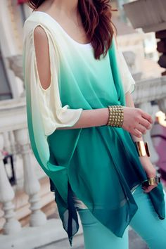 ....GASP.. that blouse is devine & that gold cuff (left arm) ... ooh la la que lovely :)