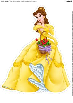Disney Princess Photo: Another Belle pose Disney Belle, Bella Disney, Disney Love, Disney Magic, Disney Pixar, Disney Wiki, Disney Art, Walt Disney, Disney Characters