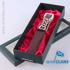Stuart Clan Crest Sgian Dubh
