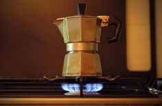 Corby Kummer, author of The Joy of Coffee, says the stovetop moka pot is a low-tech, simple-to-operate, inexpensive brewing system that produces a superb cup of coffee.