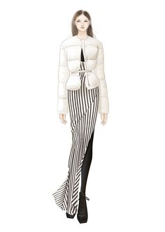 60 Fashion Illustration by adobe illustrator