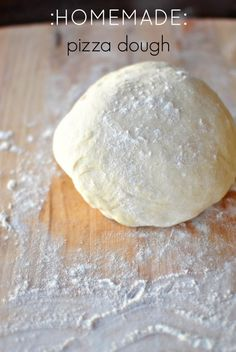 How To: Make Pizza Dough From Scratch + Grilled Pizza!