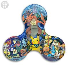 pokemon spinners. fidget spinner pokemon stress reducer relief toys perfect for adhd edc add anxiety autism and boredom spinners