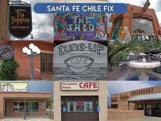 Need chile? This is a list of the best places in Santa Fe to get your chile fix. If I overlooked your favorite, please let me know. Santa Fe Restaurants, New Mexico Santa Fe, Travel New Mexico, Spice Things Up, Good Things, Visit Chile, Mexico Food, Parasol, Fes
