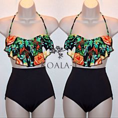 "This+swimwear+features+removable+pads,+and+tie+back.    Size:+SMALL+/+MEDIUM+  Cup:+A+/+B,+the+foam+padding+is+removable.  Bust:+30""+-+36""+  Hips:+30""+-+38""+  Waist:+22""+-+28""    Size:+LARGE+/+X+LARGE  Cup:+A+/+B+/+C,+the+foam+padding+is+removable.+  Bust:+36""+-+38""+  Waist:+31""+-+38""  Hips:+38""+..."