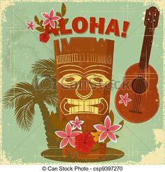 Resultado de imagen de arte hawaiano